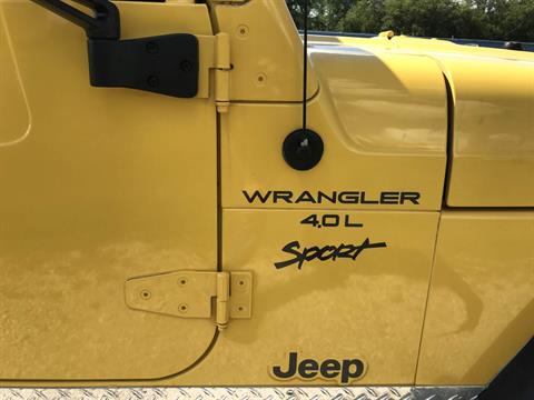 2001 Jeep WRANGLER SPORT in Big Bend, Wisconsin - Photo 14