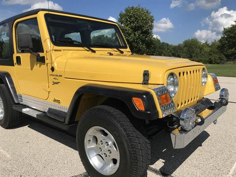 2001 Jeep WRANGLER SPORT in Big Bend, Wisconsin - Photo 8