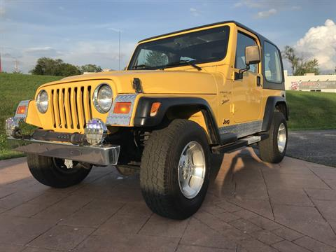 2001 Jeep WRANGLER SPORT in Big Bend, Wisconsin - Photo 12