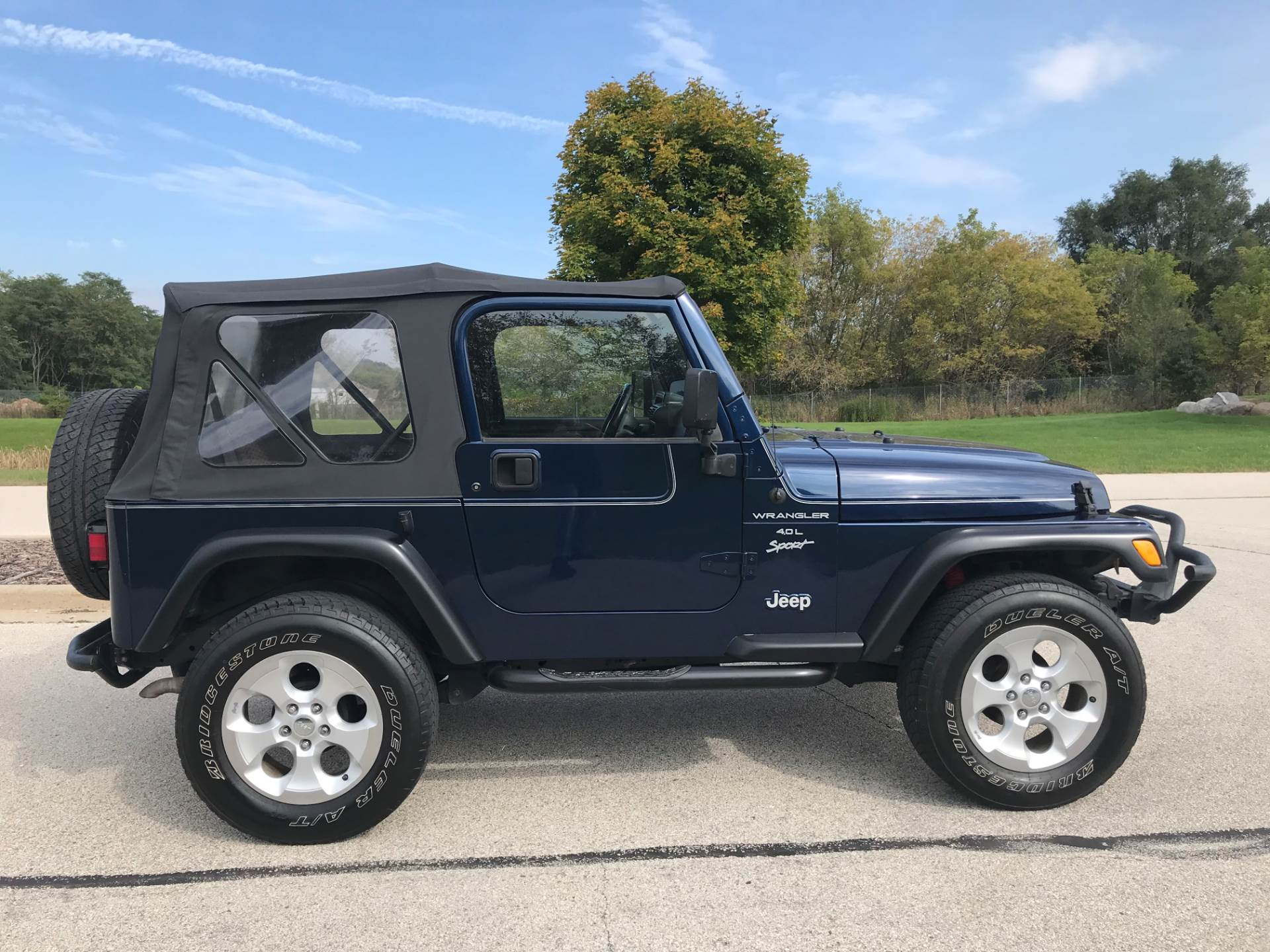 2000 Jeep Wrangler Sport 2dr 4WD SUV in Big Bend, Wisconsin - Photo 1