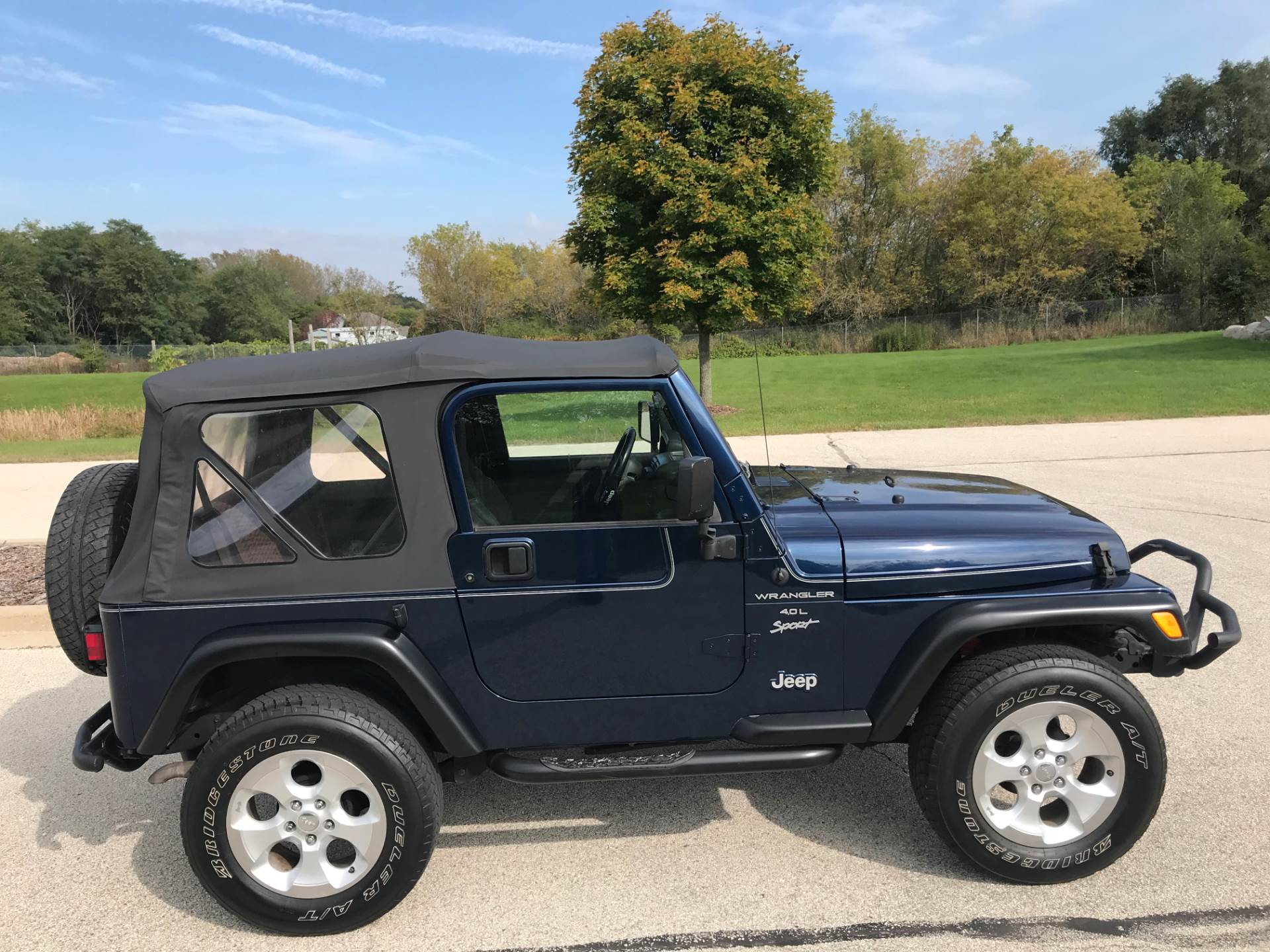 2000 Jeep Wrangler Sport 2dr 4WD SUV in Big Bend, Wisconsin - Photo 8