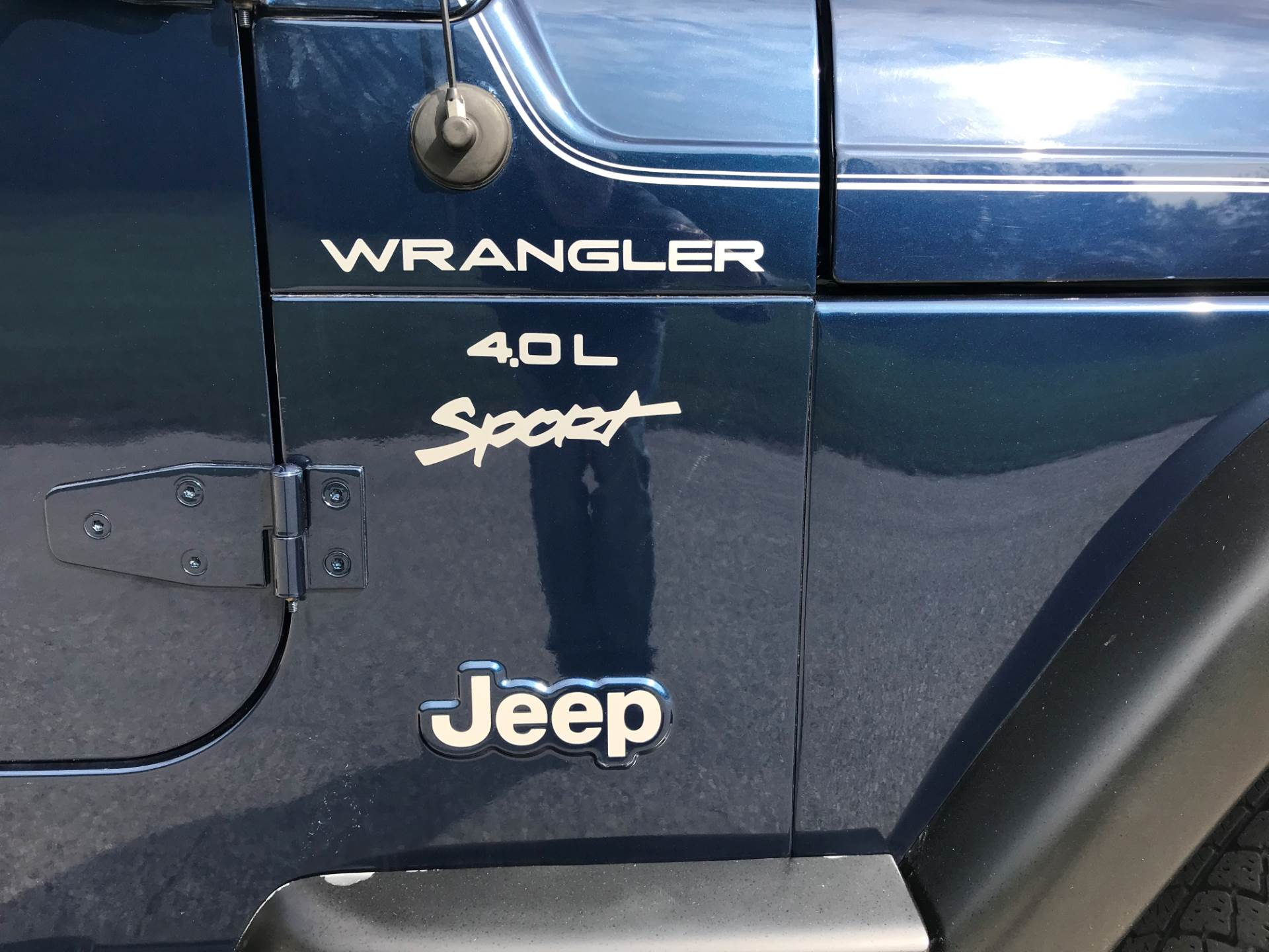 2000 Jeep Wrangler Sport 2dr 4WD SUV in Big Bend, Wisconsin - Photo 14