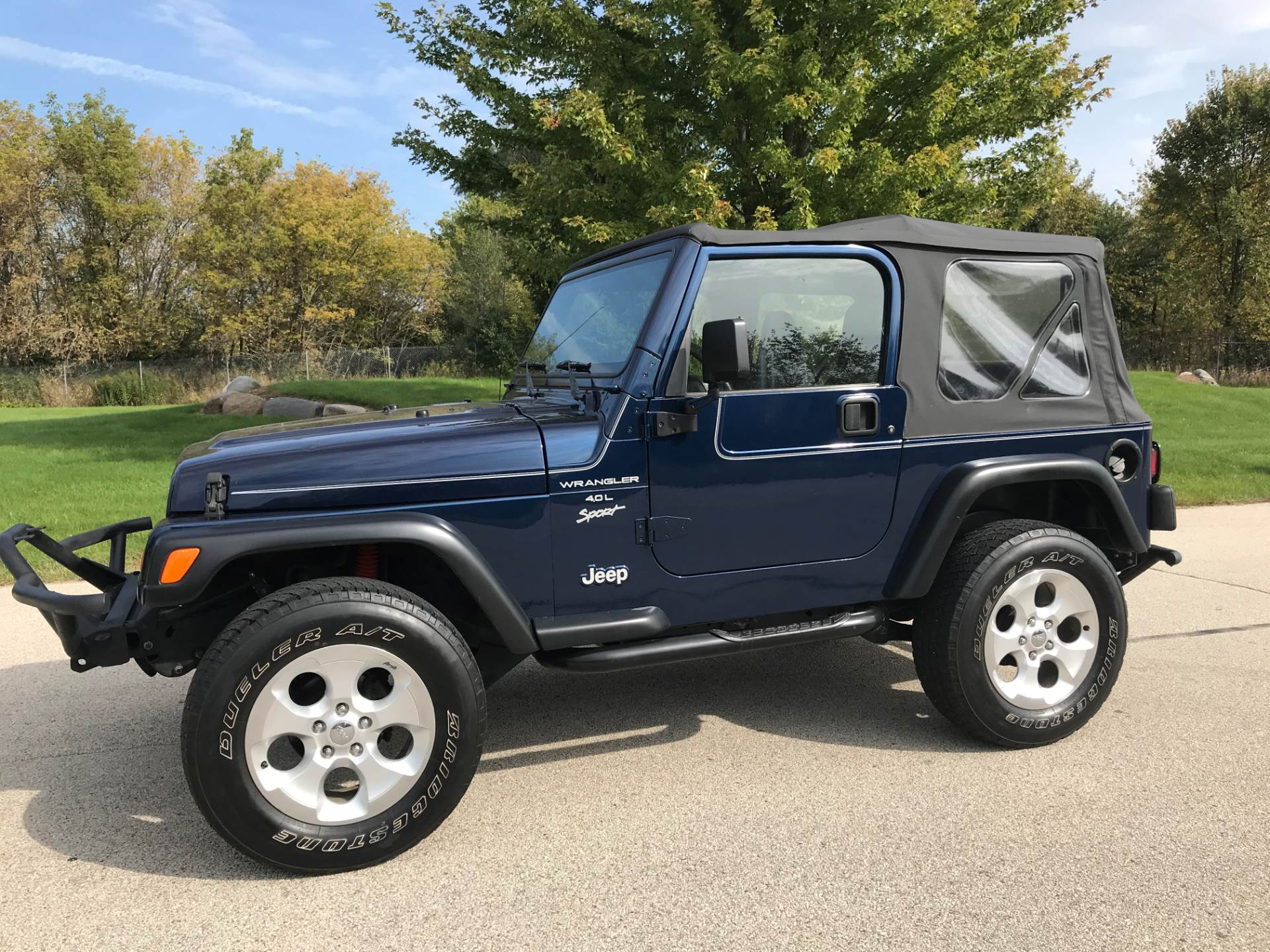 2000 Jeep Wrangler Sport 2dr 4WD SUV in Big Bend, Wisconsin - Photo 20