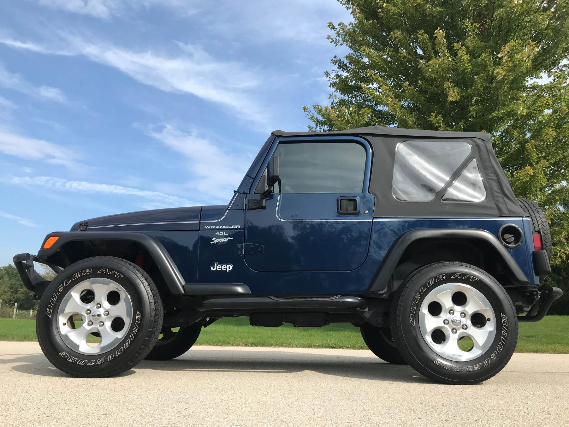 2000 Jeep Wrangler Sport 2dr 4WD SUV in Big Bend, Wisconsin - Photo 41