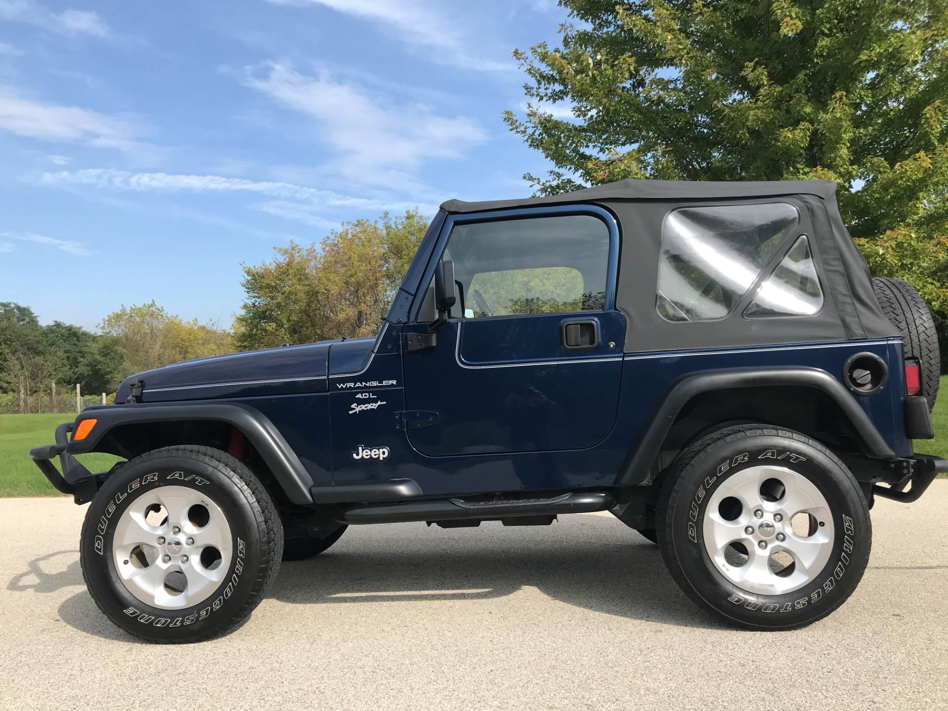 2000 Jeep Wrangler Sport 2dr 4WD SUV in Big Bend, Wisconsin - Photo 43