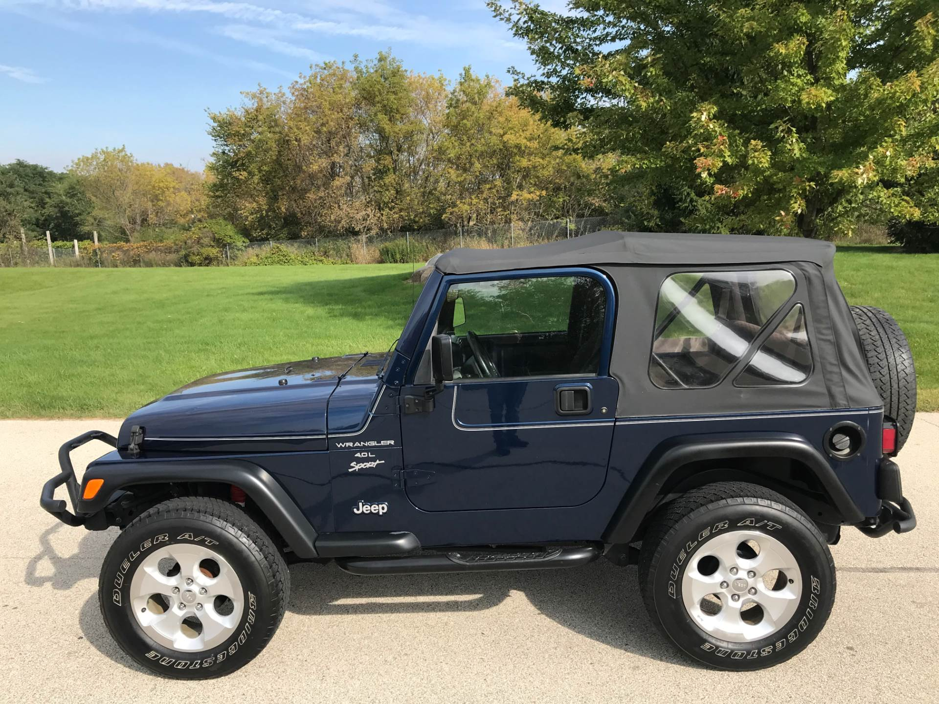 2000 Jeep Wrangler Sport 2dr 4WD SUV in Big Bend, Wisconsin - Photo 45