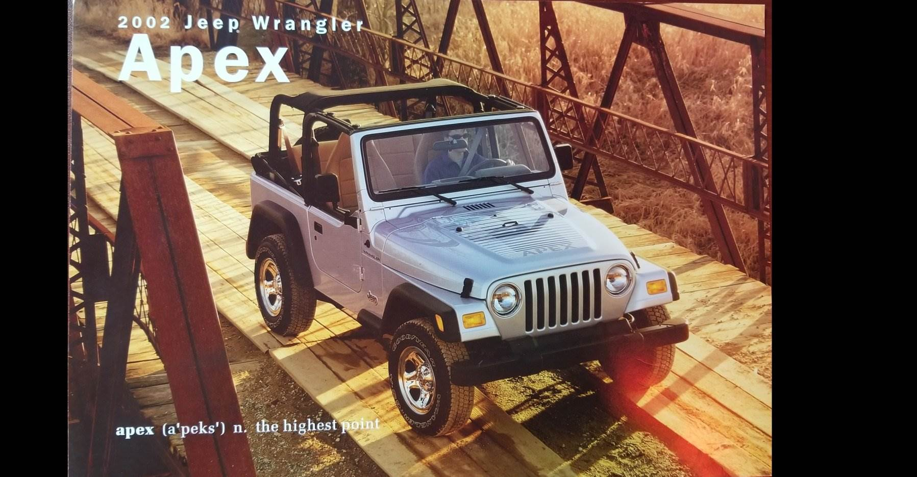 2002 Jeep Wrangler X Apex Edition 4WD 2dr SUV in Big Bend, Wisconsin - Photo 13