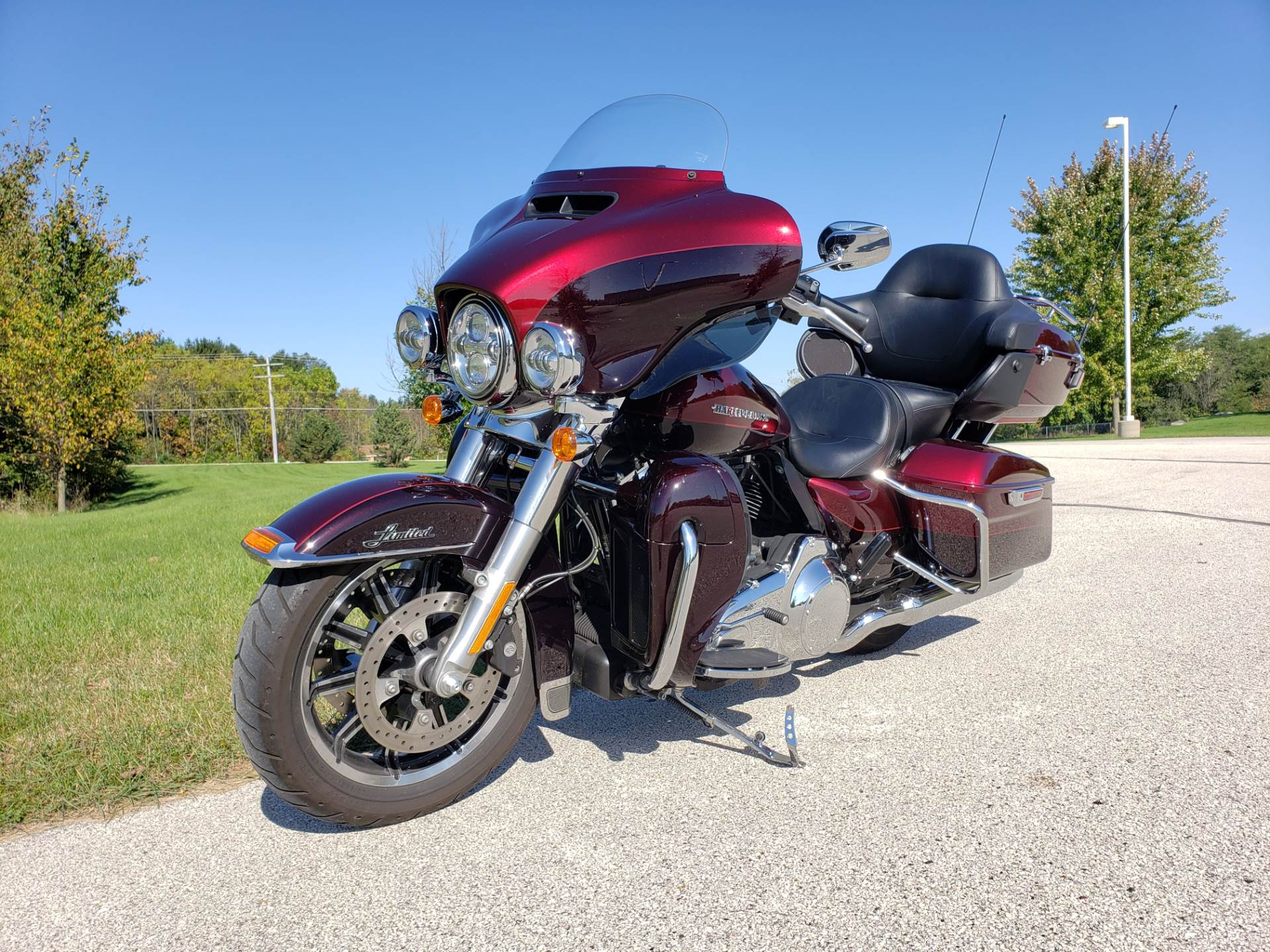 2015 Harley-Davidson Ultra Limited Low in Big Bend, Wisconsin - Photo 2