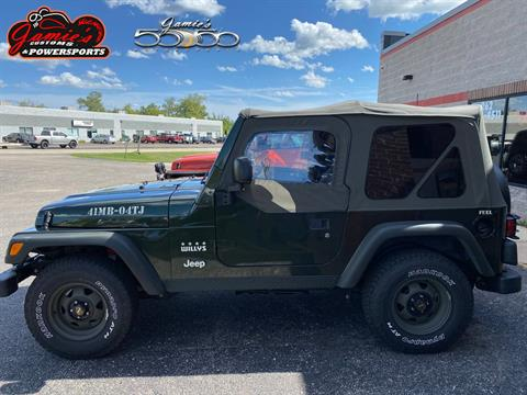 2004 Jeep® Wrangler Willys Edition in Big Bend, Wisconsin - Photo 1