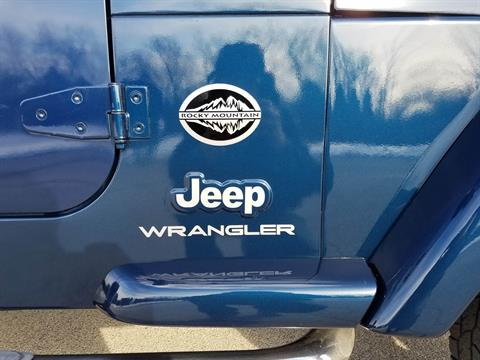 2005 Jeep® Wrangler Rocky Mountain Edition in Big Bend, Wisconsin - Photo 27