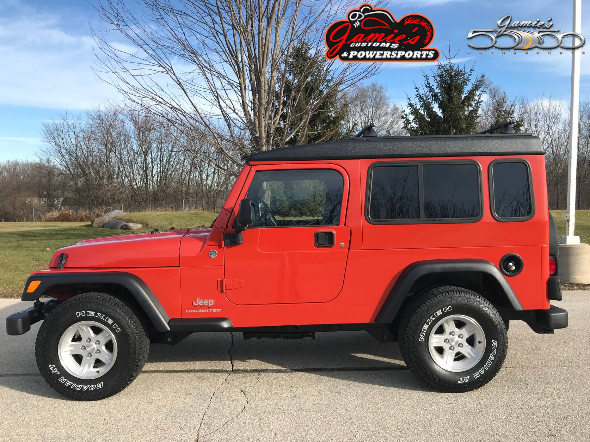 Used 2005 Jeep Wrangler Unlimited Automobile In Big Bend Wi 4100b Impact Orange