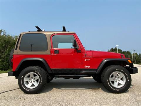 2002 Jeep® Wrangler X in Big Bend, Wisconsin - Photo 68