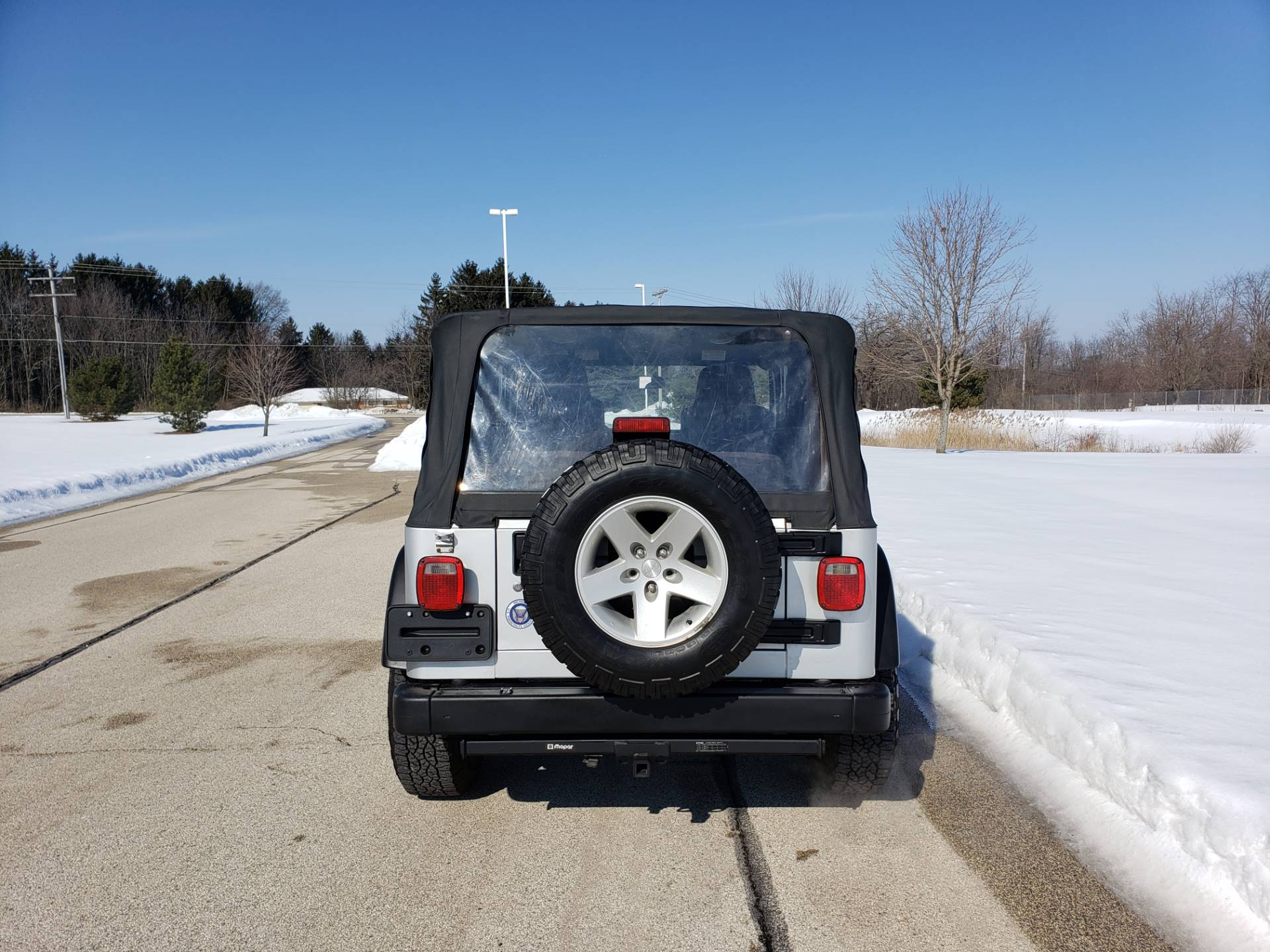 2005 Jeep Wrangler Rubicon in Big Bend, Wisconsin - Photo 10