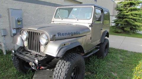 1978 Jeep Renegade CJ7 in Big Bend, Wisconsin - Photo 10