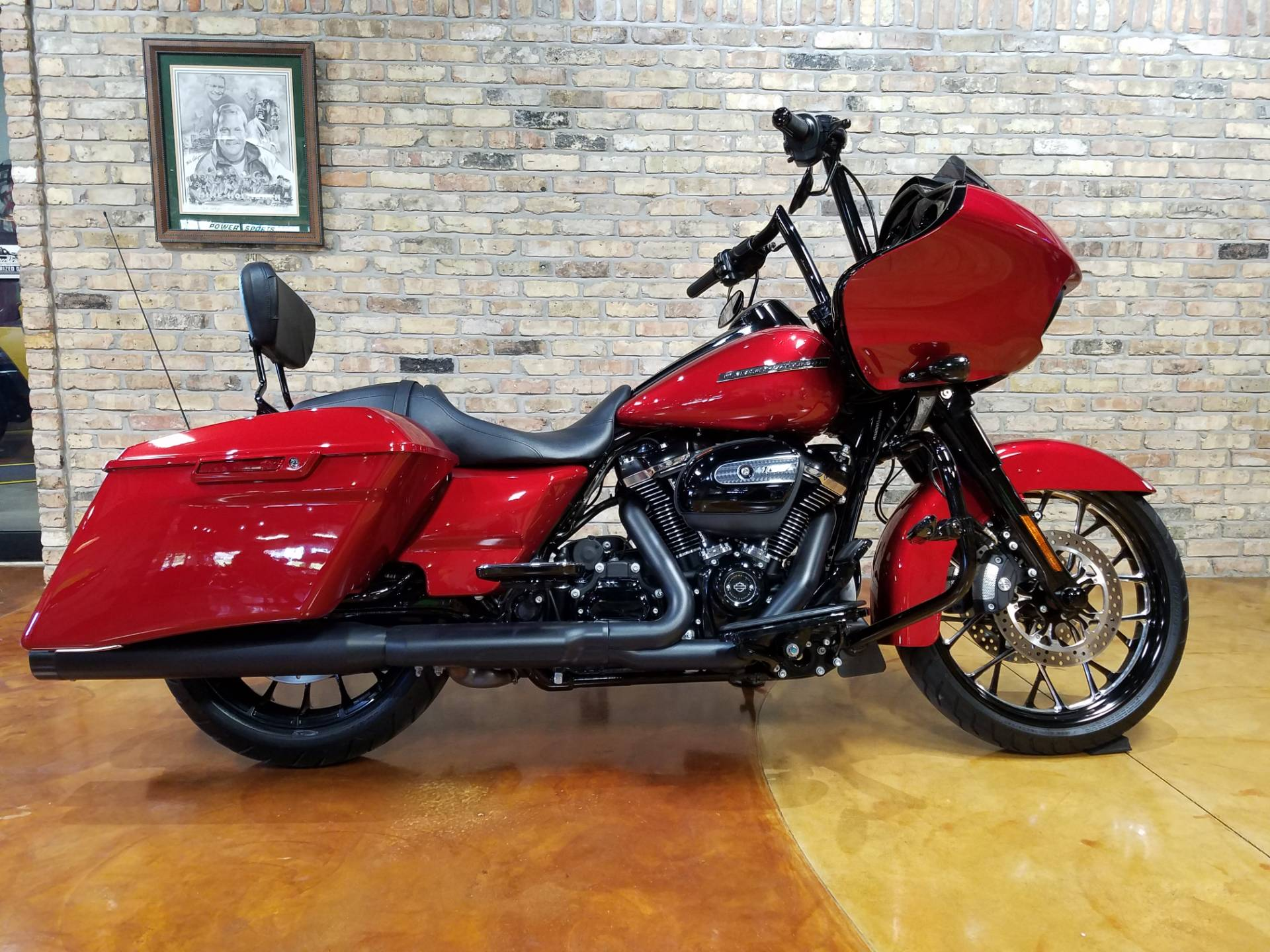 Used 2018 Harley Davidson Road Glide Special Motorcycles In Big Bend Wi 4332 Wicked Red