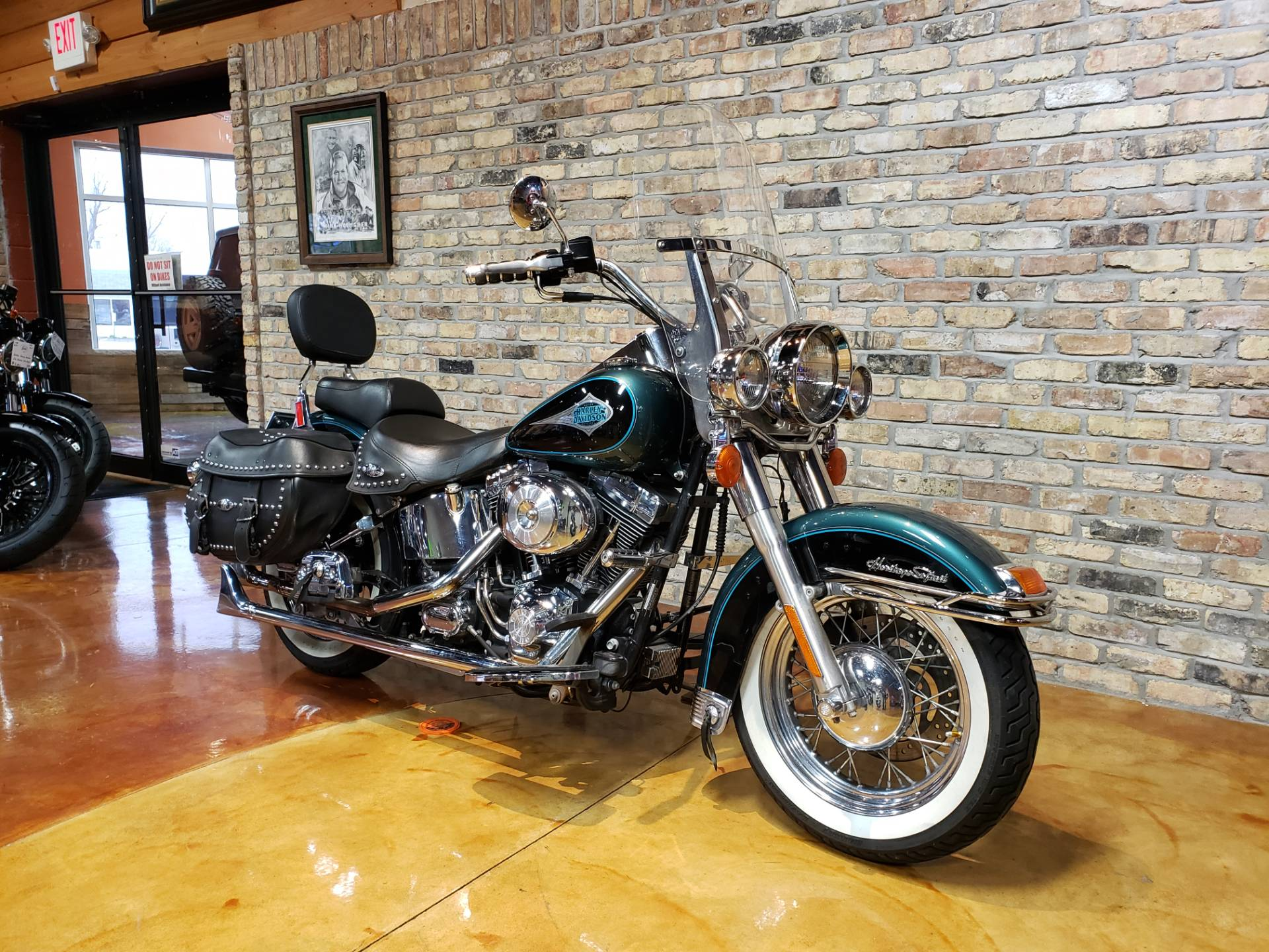 2000 Harley-Davidson FLSTC Heritage Softail® Classic in Big Bend, Wisconsin - Photo 2