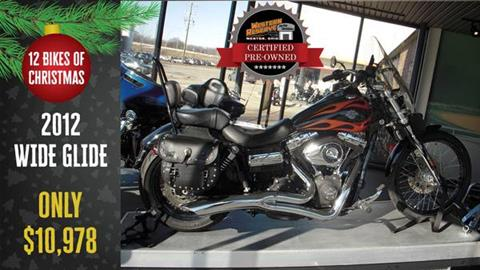 2012 Harley-Davidson Dyna® Wide Glide® in Mentor, Ohio