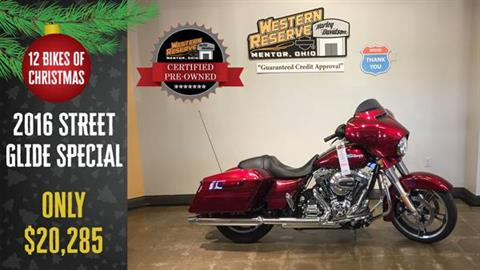 2016 Harley-Davidson Street Glide® Special in Mentor, Ohio