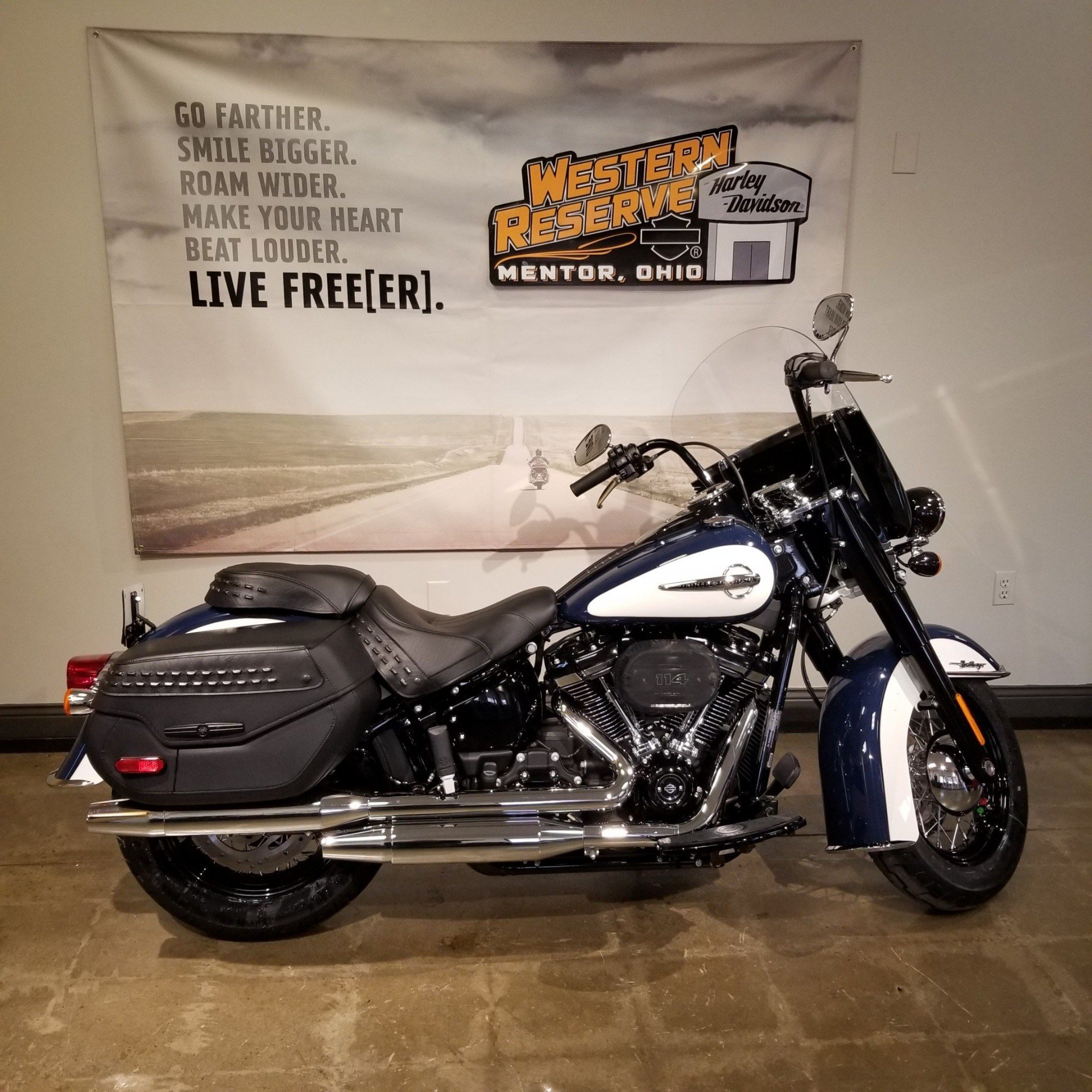 2019 Harley-Davidson Heritage Classic 114 in Mentor, Ohio