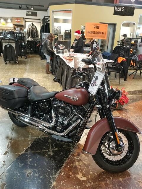 2018 Harley-Davidson Heritage Classic 114 in Mentor, Ohio