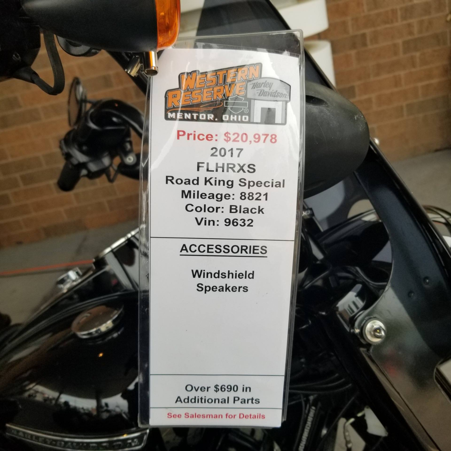 2017 Harley-Davidson Road King® Special in Mentor, Ohio - Photo 8