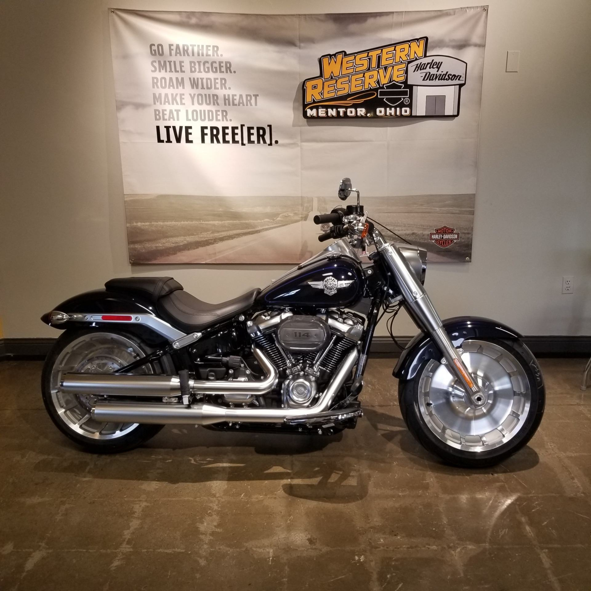 2019 Harley-Davidson Fat Boy® 114 in Mentor, Ohio - Photo 1
