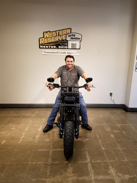 2018 Harley-Davidson Fat Bob®114 in Mentor, Ohio