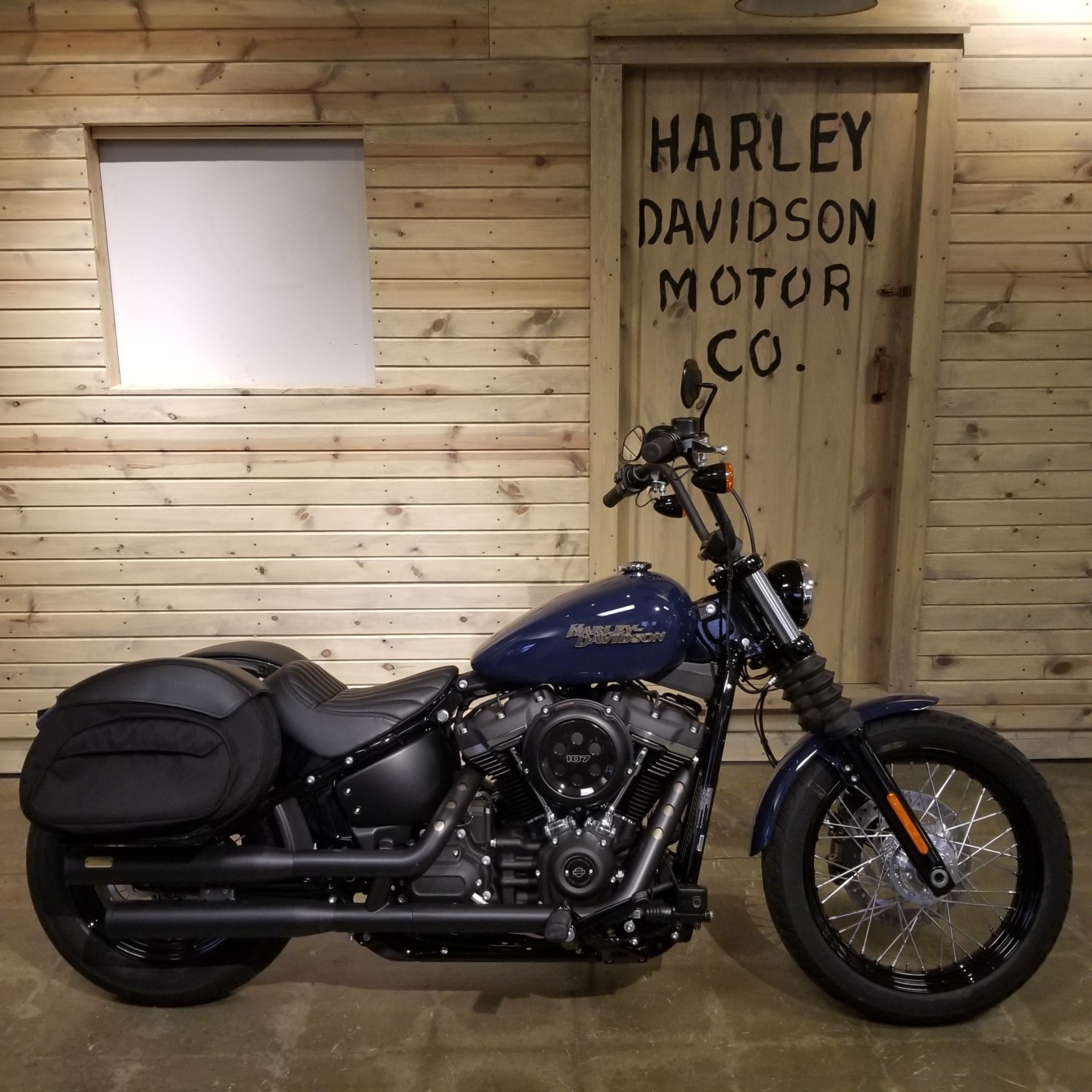 Used 2019 Harley Davidson Street Bob Motorcycles In Mentor Oh Stock Number Up B051440