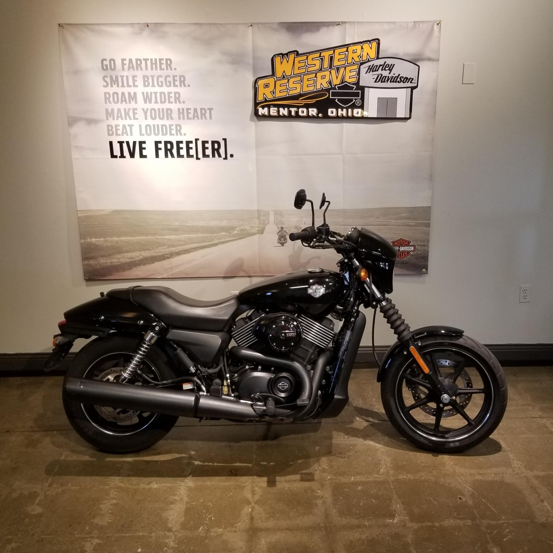 2015 Harley-Davidson Street™ 750 in Mentor, Ohio - Photo 1