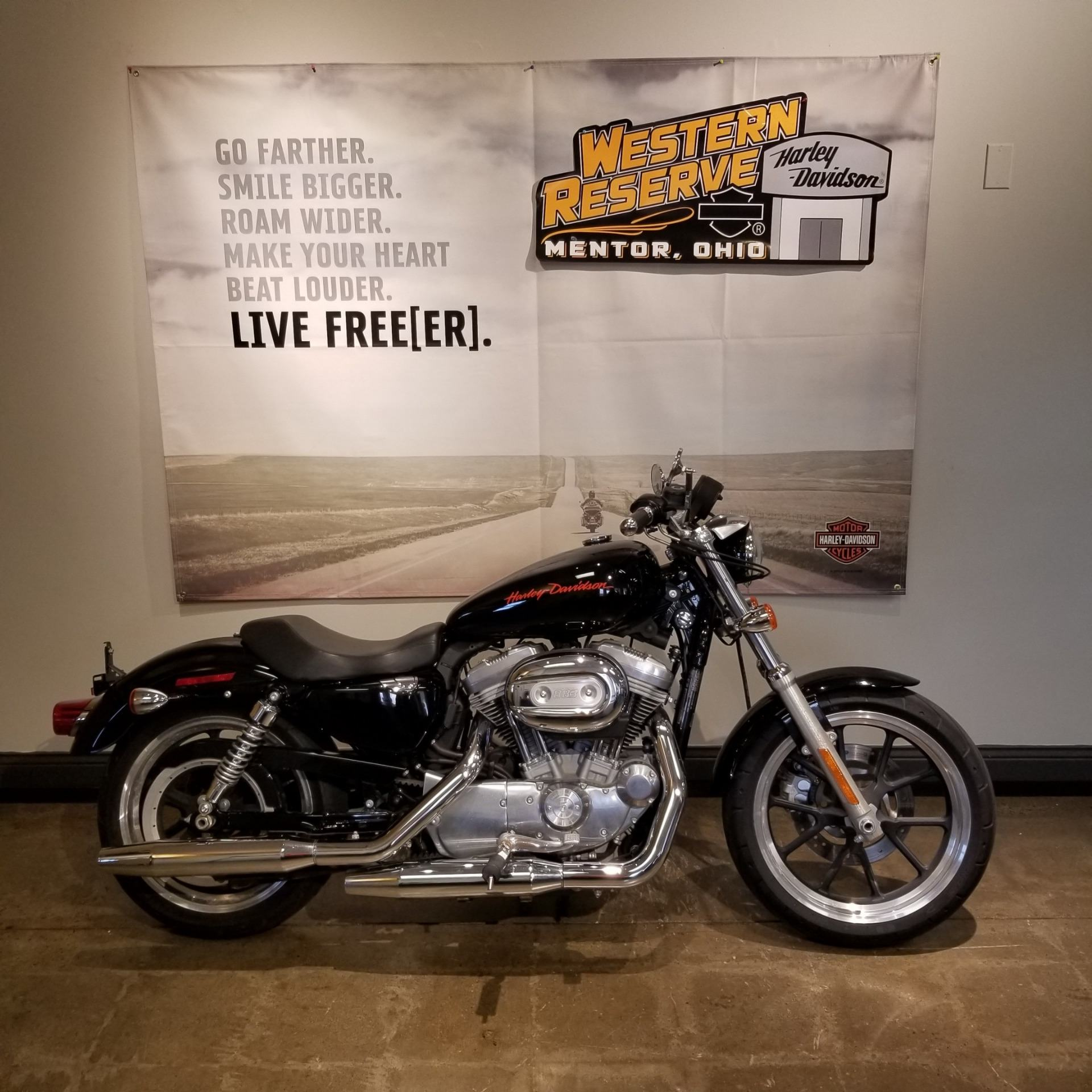 2013 Harley-Davidson Sportster® 883 SuperLow® in Mentor, Ohio