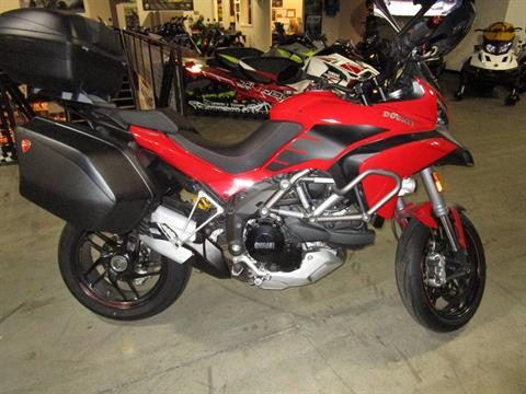 2014 Ducati Multistrada 1200 S Touring in Woodinville, Washington