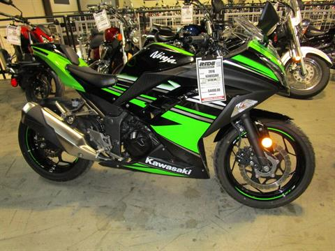 2016 Kawasaki Ninja 300 ABS KRT Edition in Woodinville, Washington