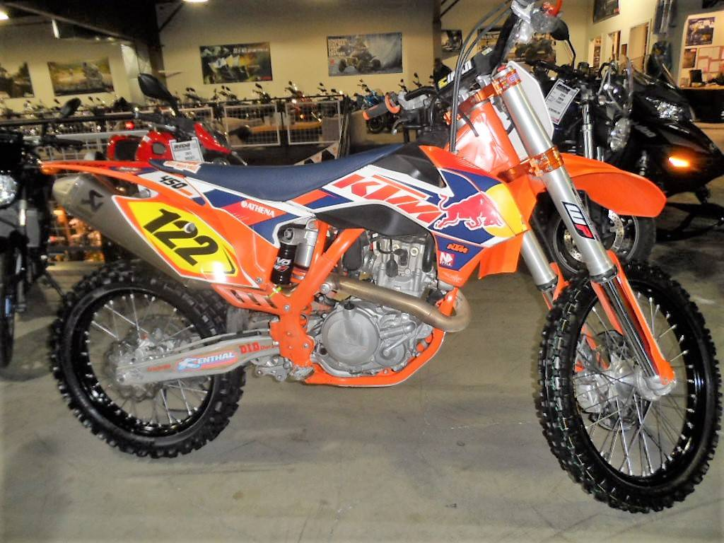 Used 2014 KTM 450 SX-F Ride Motorsports is located in Woodinville, WA.