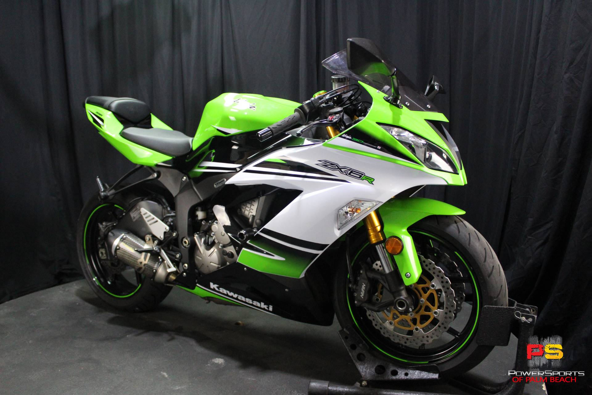 2015 Kawasaki Ninja® ZX™-6R ABS 30th Anniversary in Lake Park, Florida - Photo 8