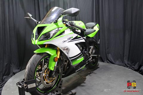 2015 Kawasaki Ninja® ZX™-6R ABS 30th Anniversary in Lake Park, Florida - Photo 15