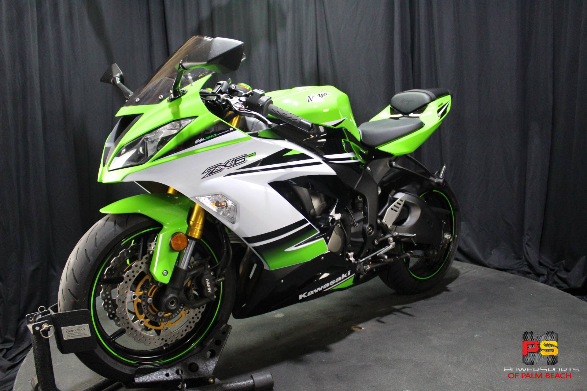 2015 Kawasaki Ninja® ZX™-6R ABS 30th Anniversary in Lake Park, Florida - Photo 16