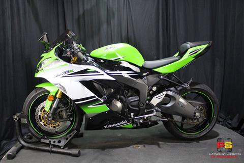 2015 Kawasaki Ninja® ZX™-6R ABS 30th Anniversary in Lake Park, Florida - Photo 17