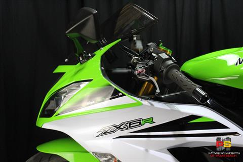 2015 Kawasaki Ninja® ZX™-6R ABS 30th Anniversary in Lake Park, Florida - Photo 19