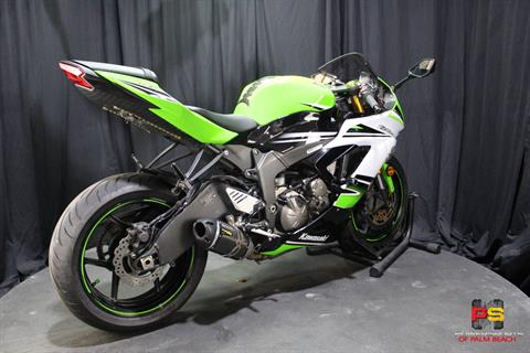 2015 Kawasaki Ninja® ZX™-6R ABS 30th Anniversary in Lake Park, Florida - Photo 31