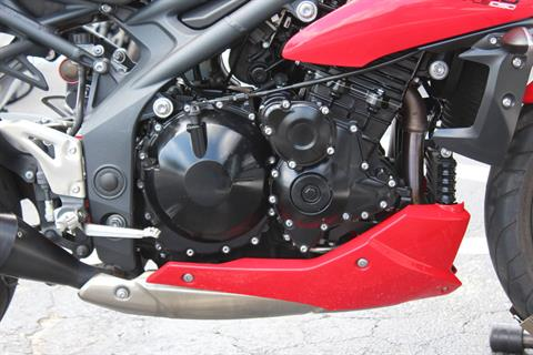2012 Triumph Speed Triple ABS in Lake Park, Florida