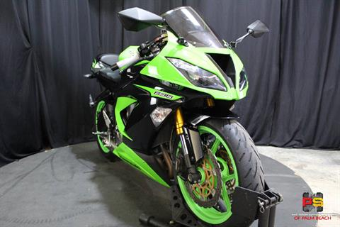 2013 Kawasaki Ninja® ZX™-6R in Lake Park, Florida - Photo 9