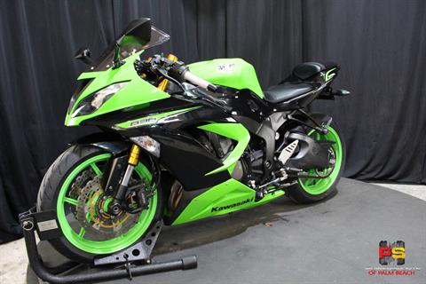 2013 Kawasaki Ninja® ZX™-6R in Lake Park, Florida - Photo 15