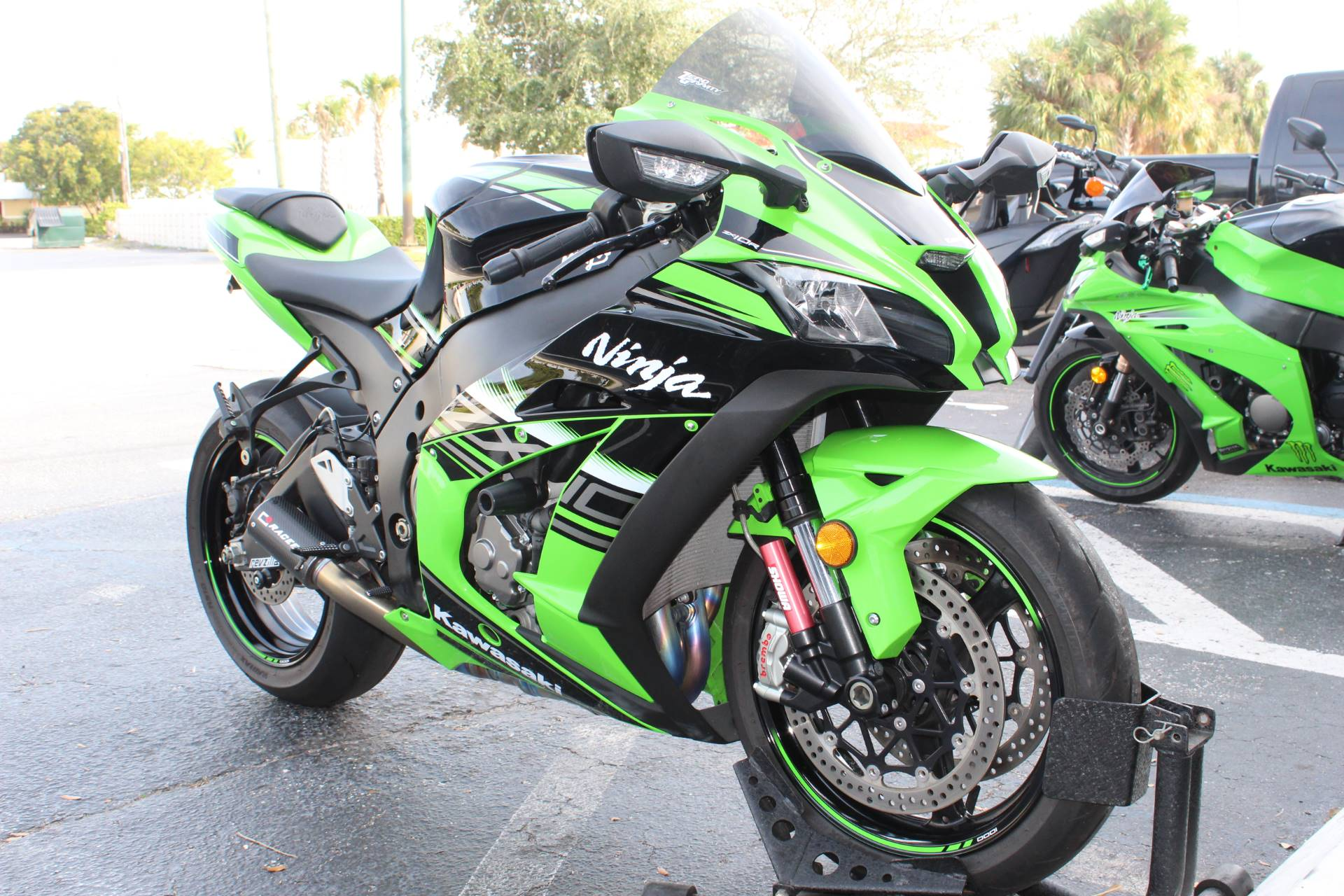 2017 Kawasaki Ninja ZX-10R KRT EDITION in Lake Park, Florida
