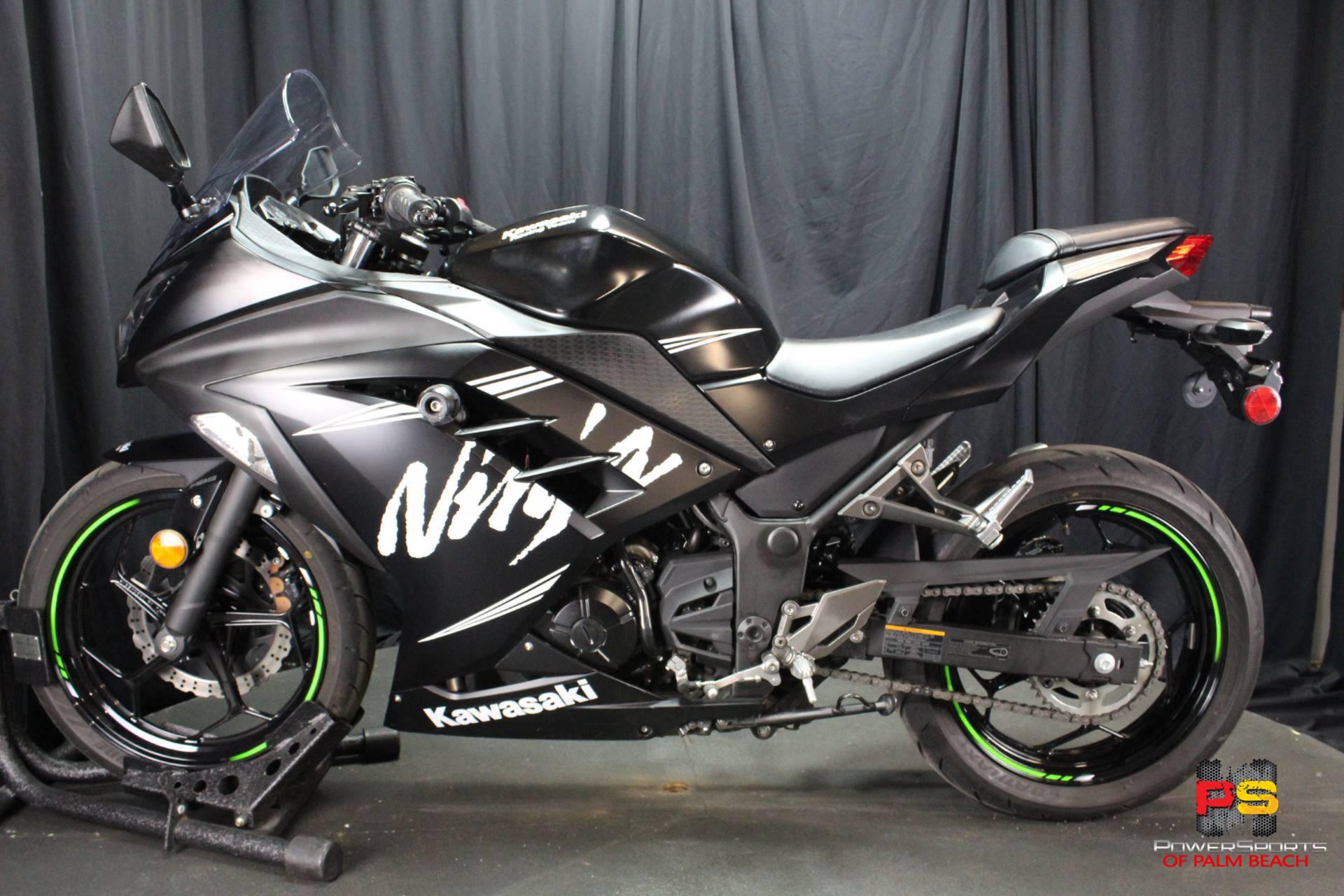 Used 2017 Kawasaki Ninja 300 Abs Winter Test Edition Motorcycles In