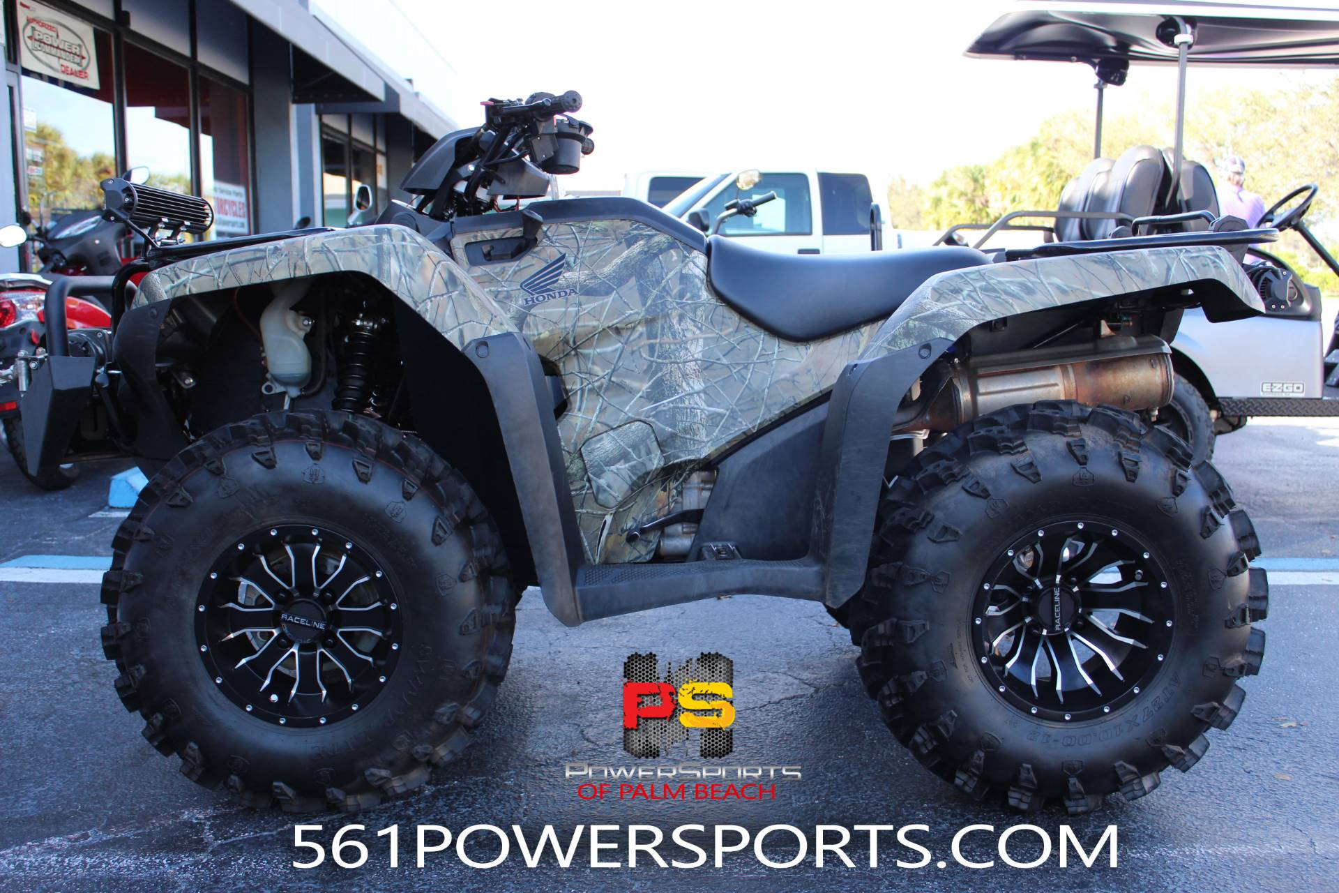 2016 Honda FourTrax Rancher 4x4 in Lake Park, Florida - Photo 1