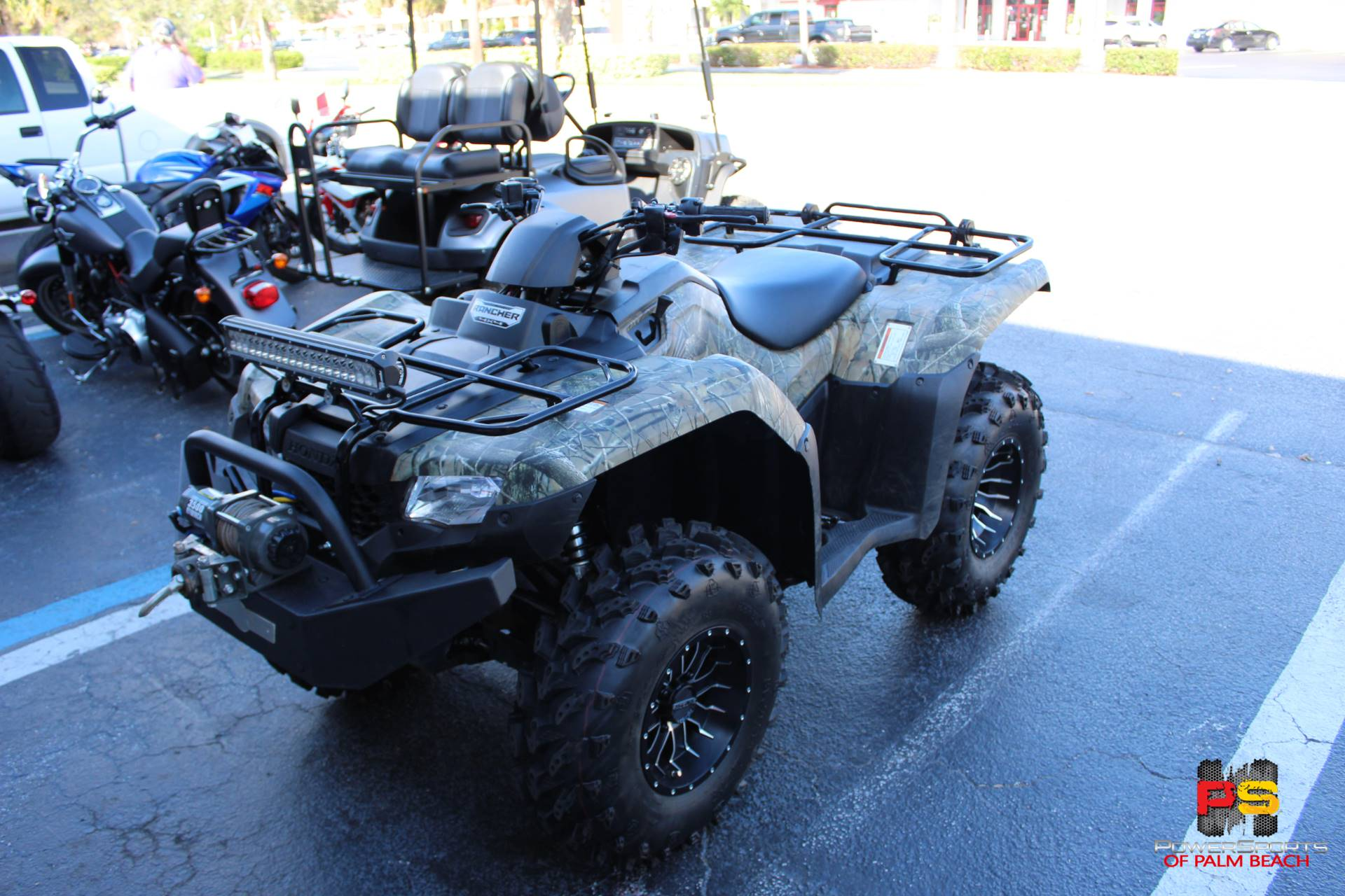2016 Honda FourTrax Rancher 4x4 in Lake Park, Florida - Photo 7