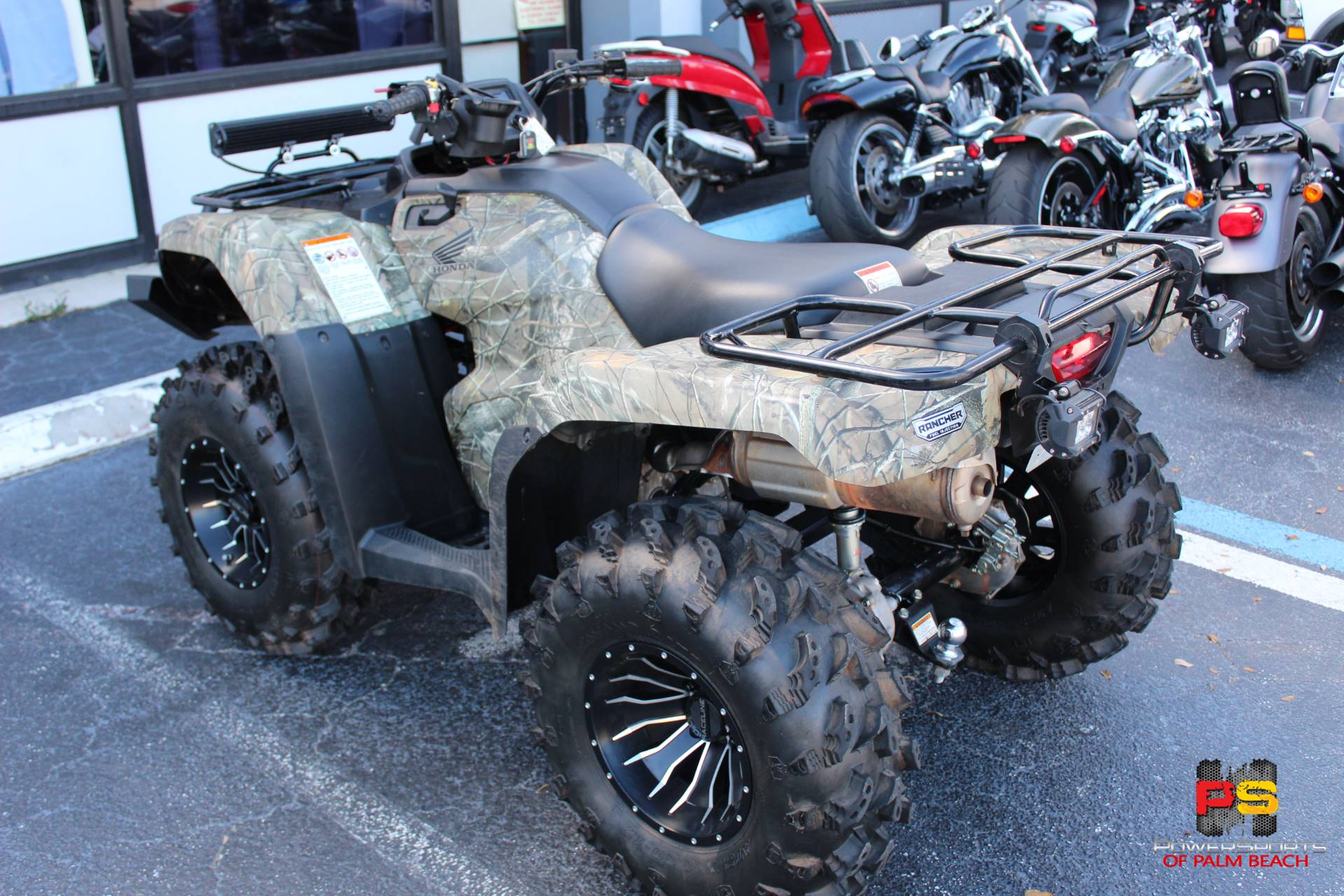 2016 Honda FourTrax Rancher 4x4 in Lake Park, Florida - Photo 26