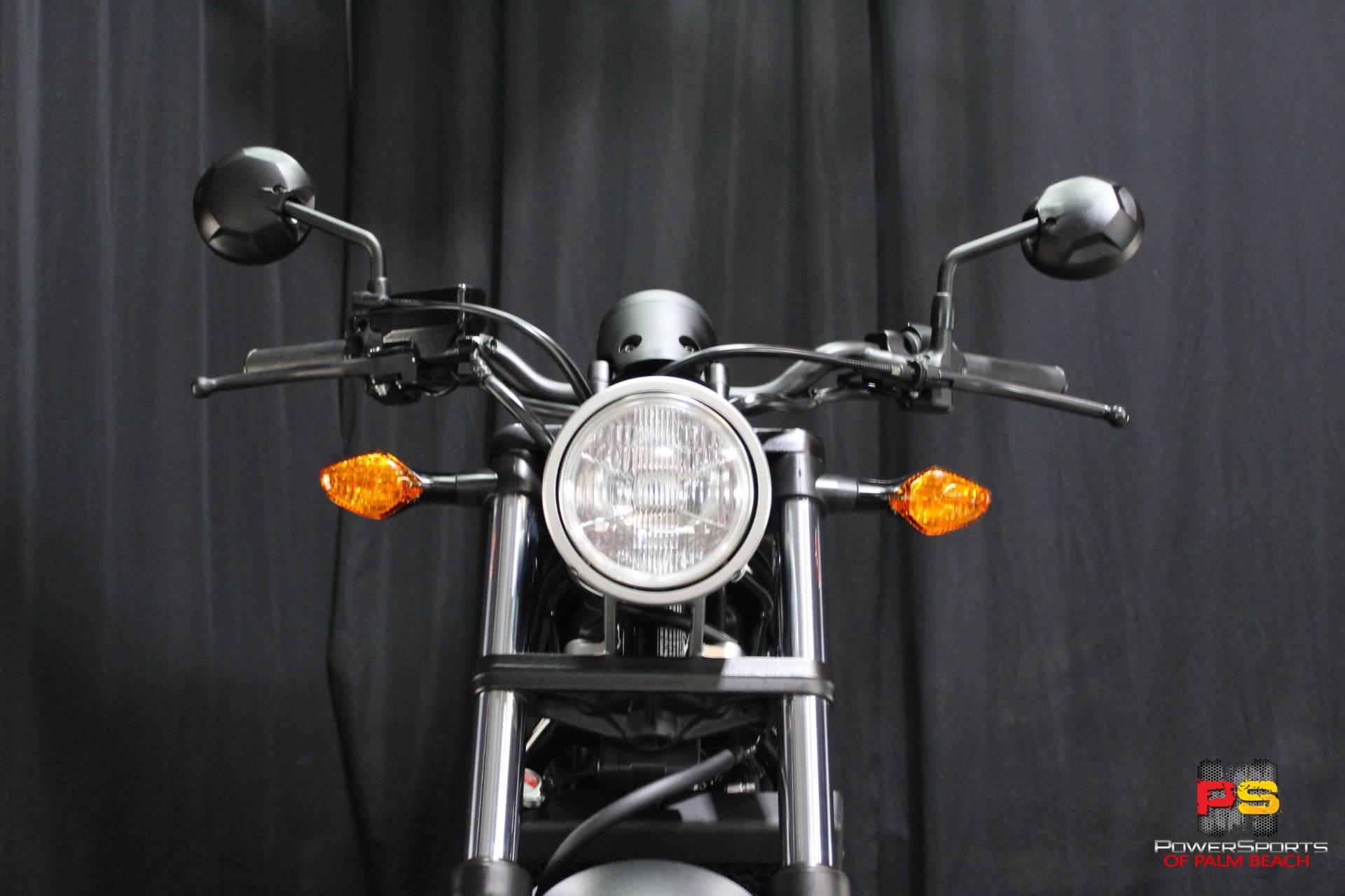 2018 Honda Rebel 300 11
