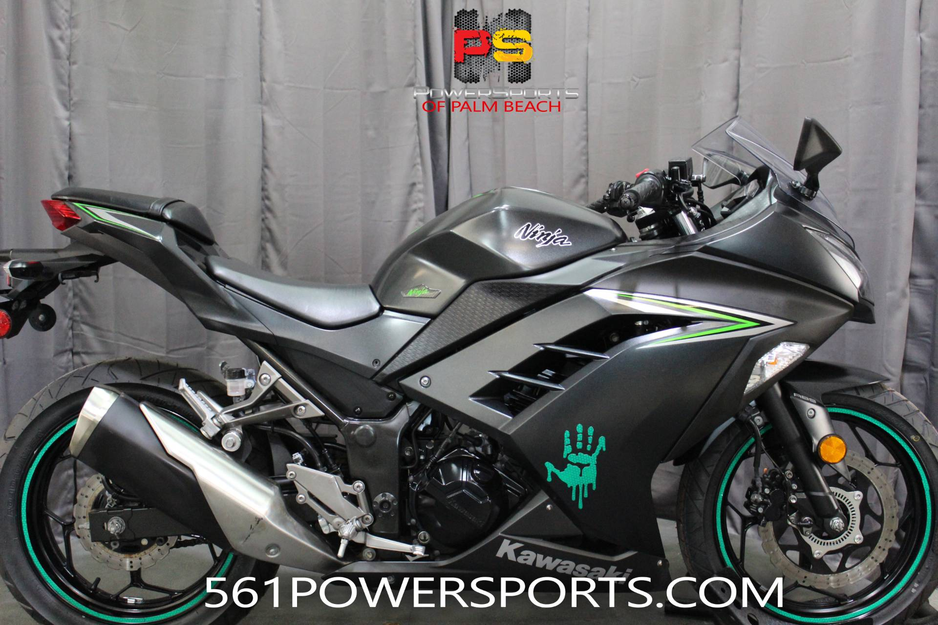 2016 Kawasaki Ninja 300 ABS in Lake Park, Florida - Photo 1