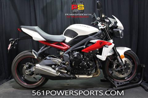 2014 Triumph Street Triple R ABS in Lake Park, Florida - Photo 1